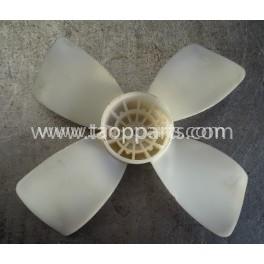 Ventilador del sist. eléctrico Komatsu ND022740-3990 para WA320-5 · (SKU: 53792)