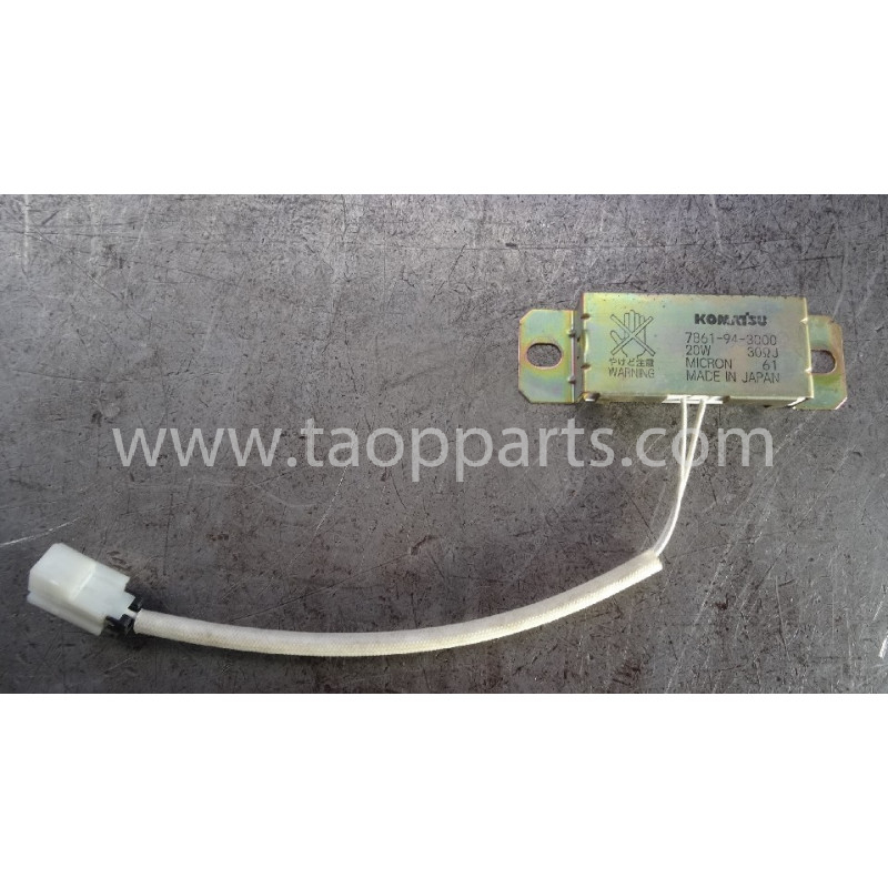 Rezistenta electrica Komatsu 7861-94-3000 pentru PC450LC-7EO · (SKU: 53953)