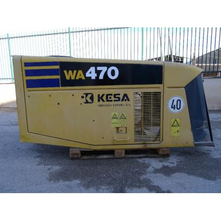 Capot Komatsu 421-54-H1A01 pour Chargeuse sur pneus WA470-5 · (SKU: 810)