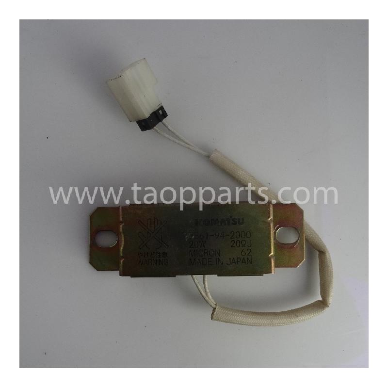 Komatsu Resistor 7861-94-2000 for PC240NLC-8 · (SKU: 54447)