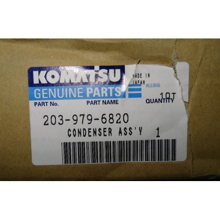 Condensador usado Komatsu...