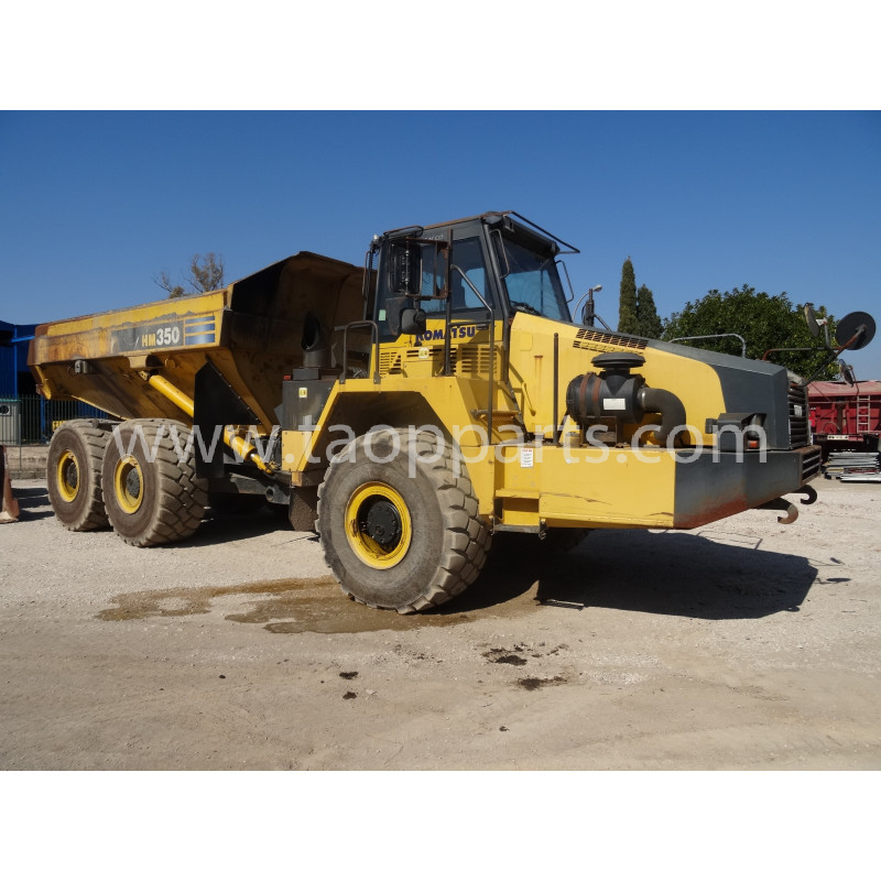 Dumper articulado Komatsu HM350-2