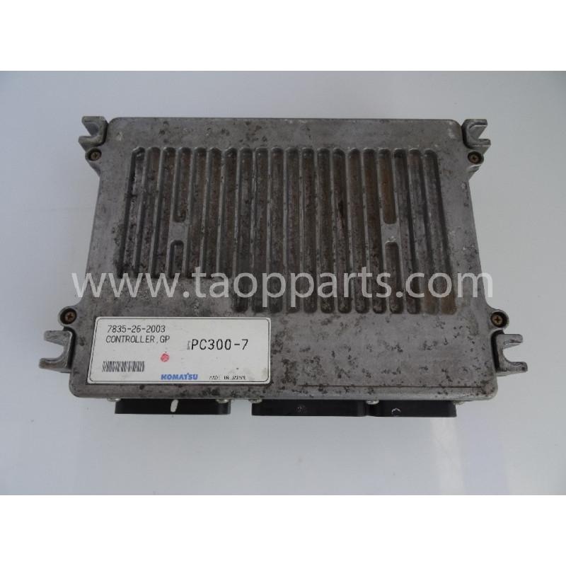 Komatsu Controller 7835-26-2003 for PC340LC-7K · (SKU: 54789)