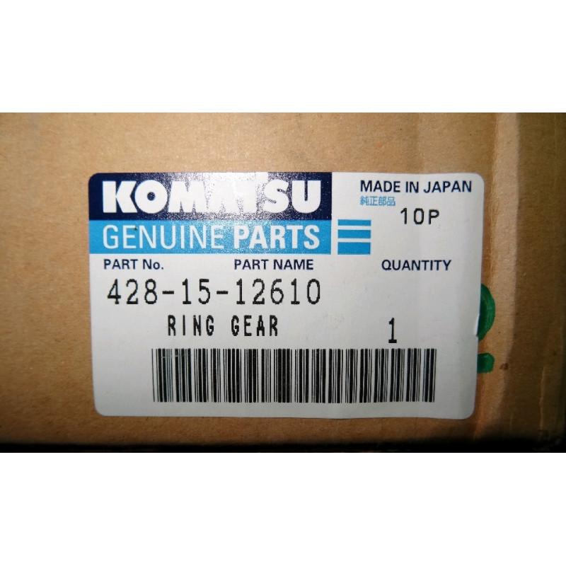 Engranaje Komatsu 428-15-12610 para WA700-1 · (SKU: 864)