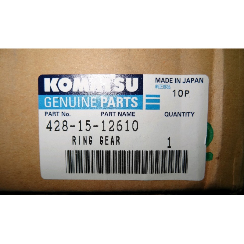 Engranaje 428-15-12610 para Pala cargadora de neumáticos Komatsu WA700-1 · (SKU: 864)