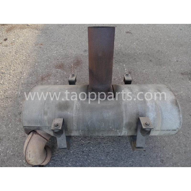 Volvo Muffler 11110296 for L220E · (SKU: 55010)