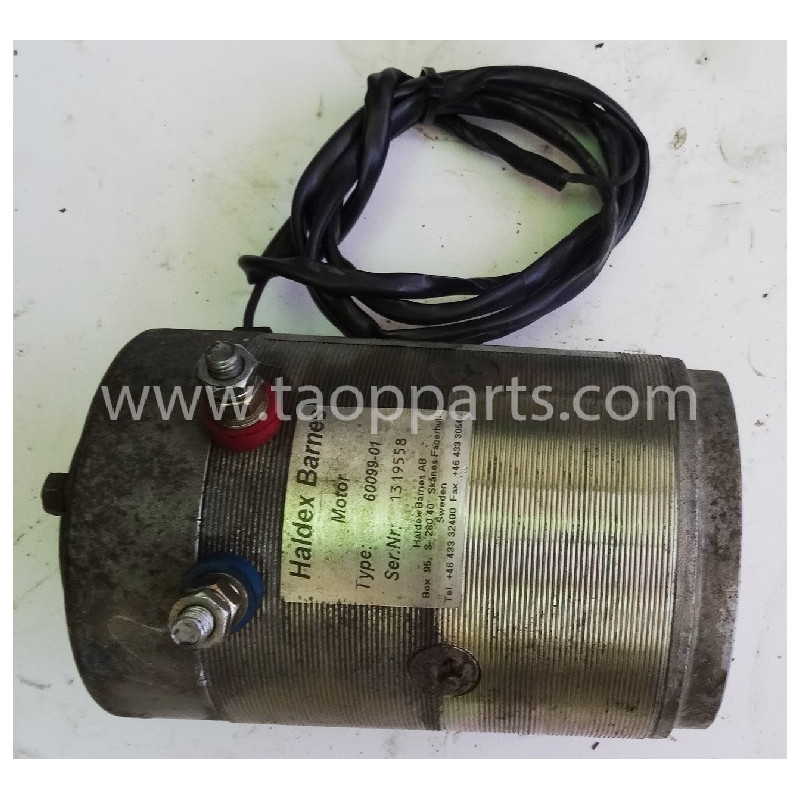 Motor eléctrico Volvo 11709637 para L120E · (SKU: 55298)