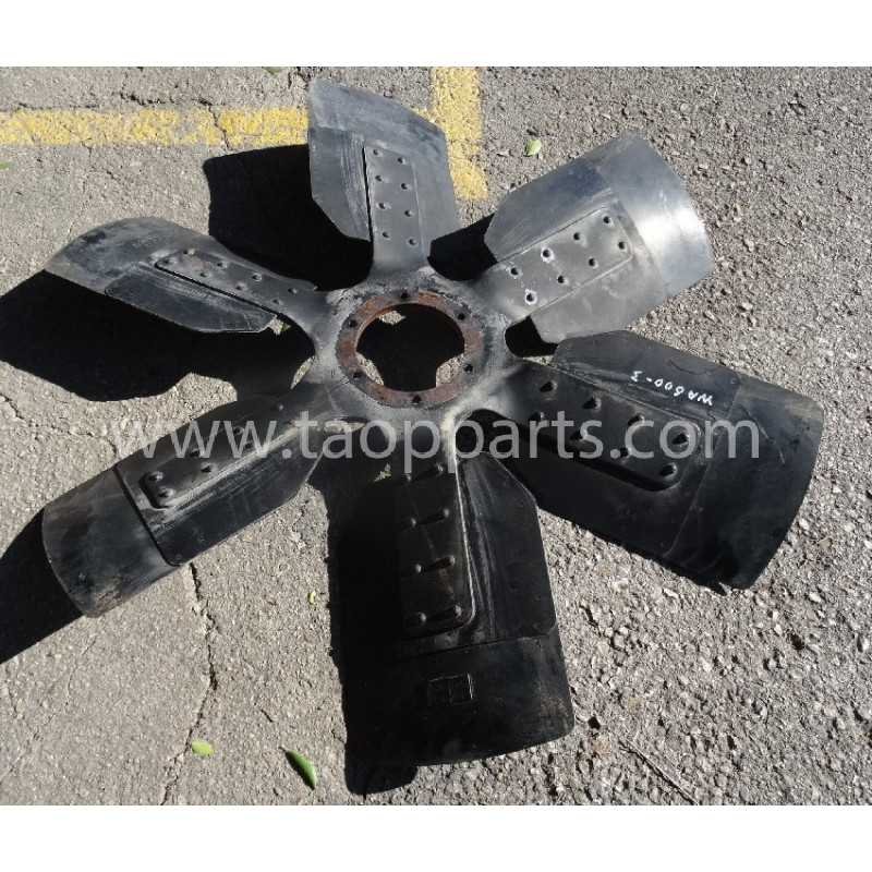 Ventilador Komatsu 600-643-1220 para WA600-3 · (SKU: 55439)