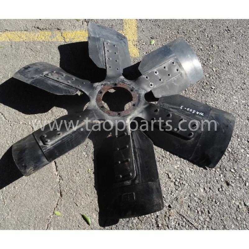 Ventilador 600-643-1220 para Pala cargadora de neumáticos Komatsu WA600-3 · (SKU: 55439)