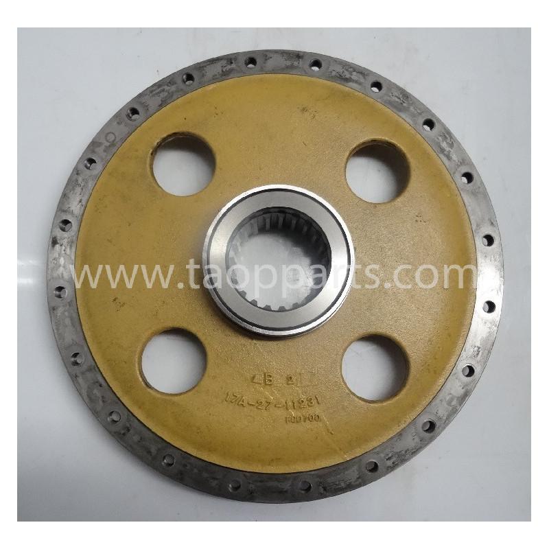 Plate Komatsu 17A-27-11231 pentru D155AX-5 · (SKU: 55195)
