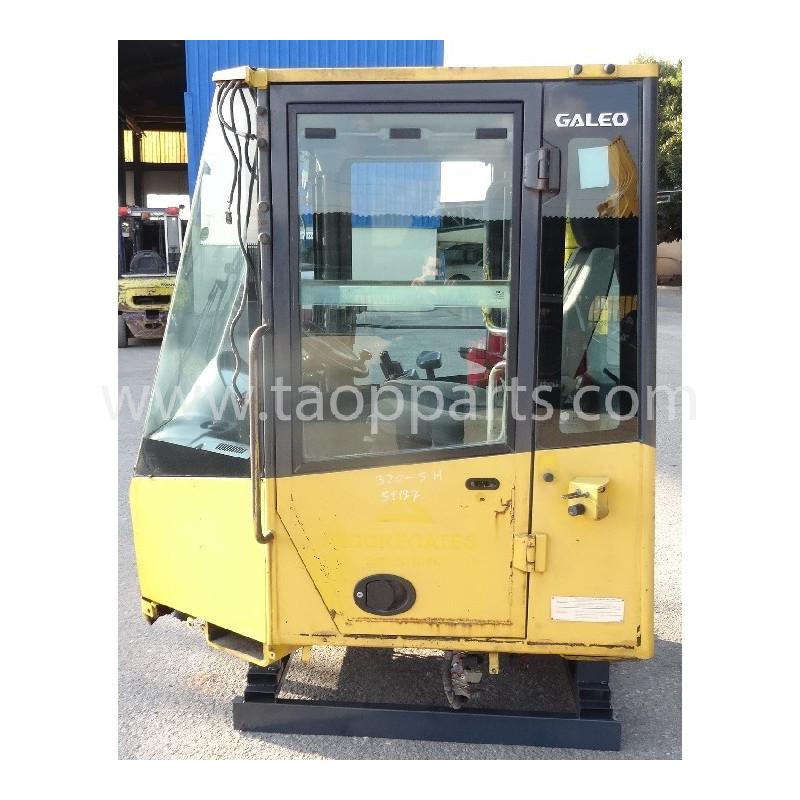 Cabina usada Komatsu 419-926-3021 para WA320-5 · (SKU: 55363)