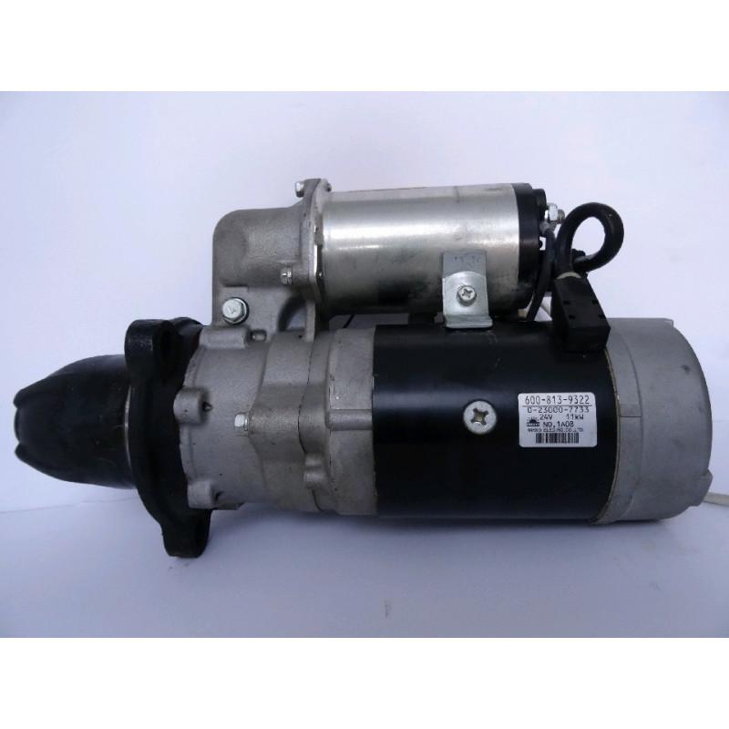 Demarreur moteur Komatsu 600-813-9322 pour WA500-6 · (SKU: 903)