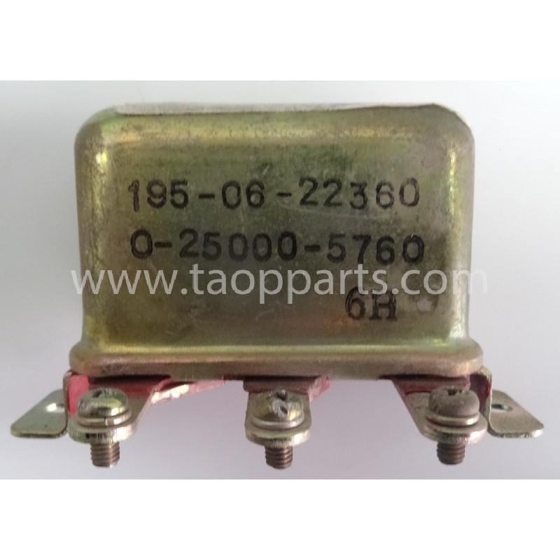 Interruptor Komatsu 195-06-22360 para WA600-1 · (SKU: 56006)