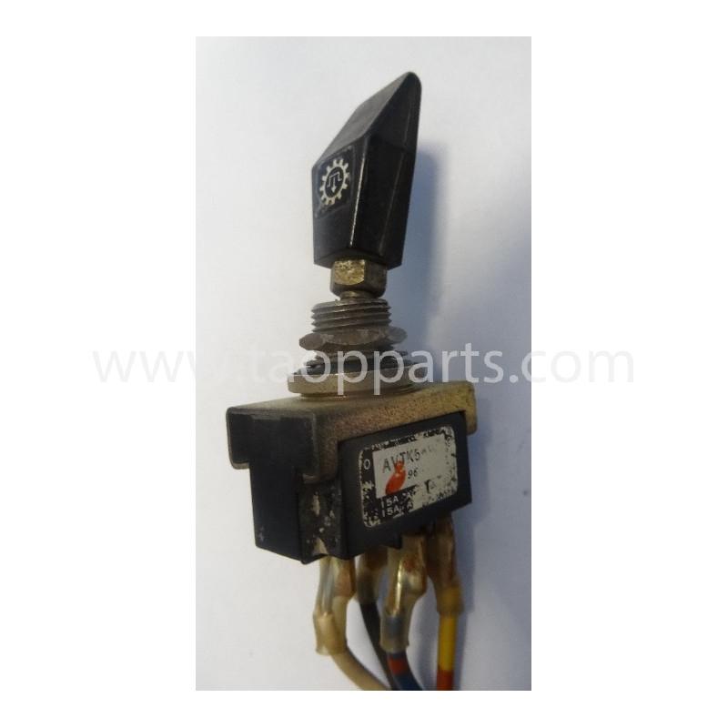 Interruptor Komatsu 421-06-11551 para WA600-1 · (SKU: 56012)