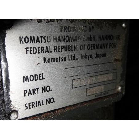 Pale gommate Komatsu...