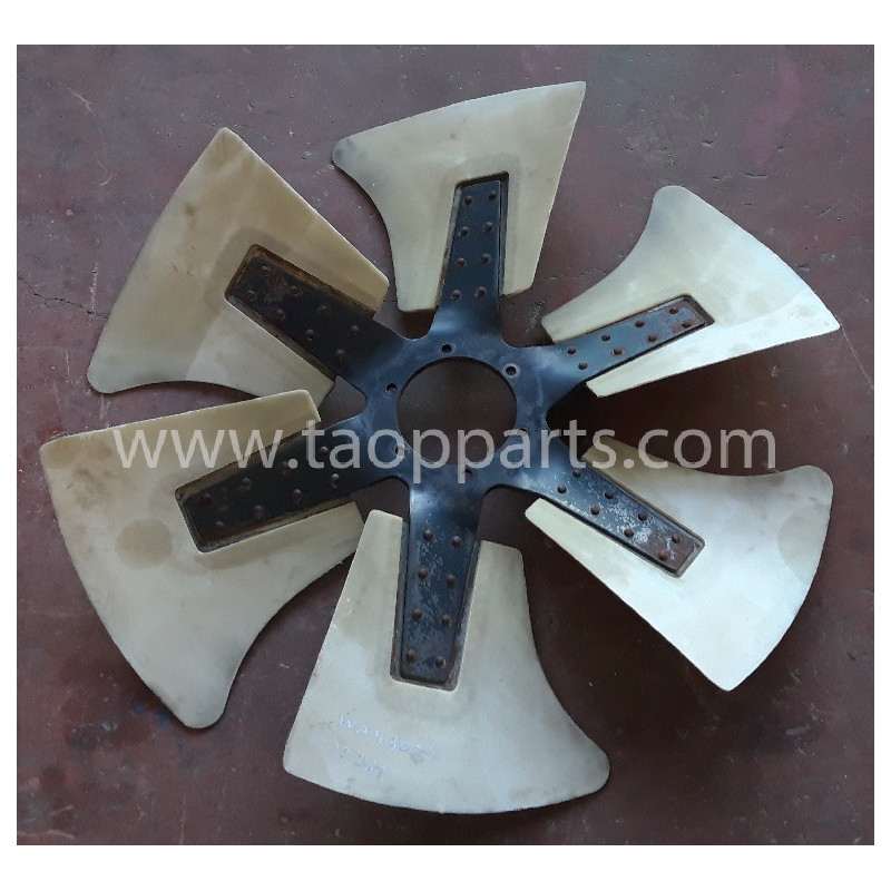 Ventilateur [usagé|usagée] 600-645-6850 pour Chargeuse sur pneus Komatsu · (SKU: 53431)