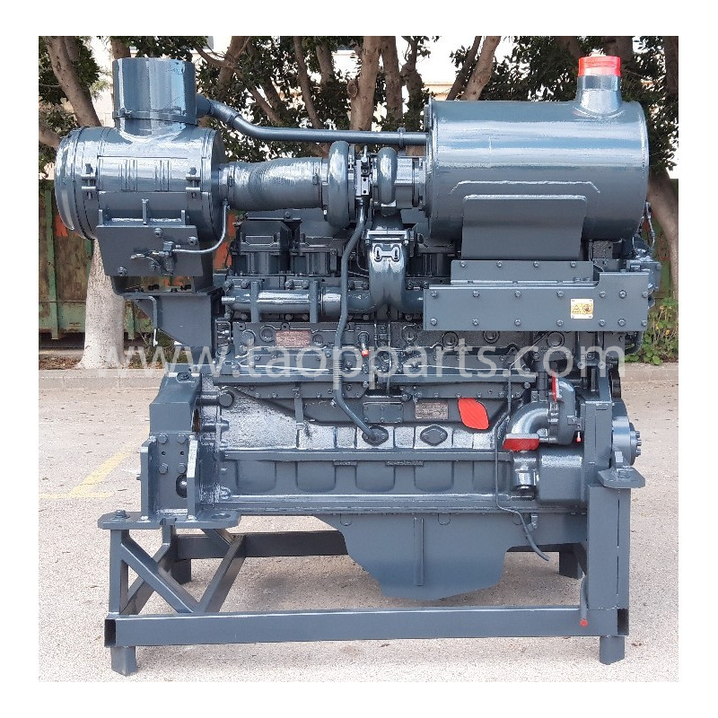 Silnik Komatsu dla modelu maszyny WA600-6