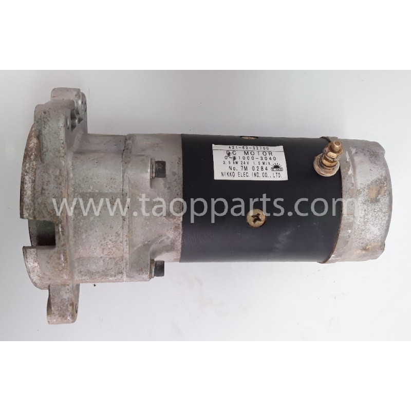 Komatsu Electric motor 421-62-32700 for WA380-6 · (SKU: 55750)
