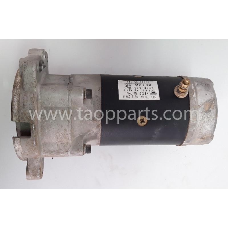 Motor electric Komatsu 421-62-32700 pentru WA380-6 · (SKU: 55750)