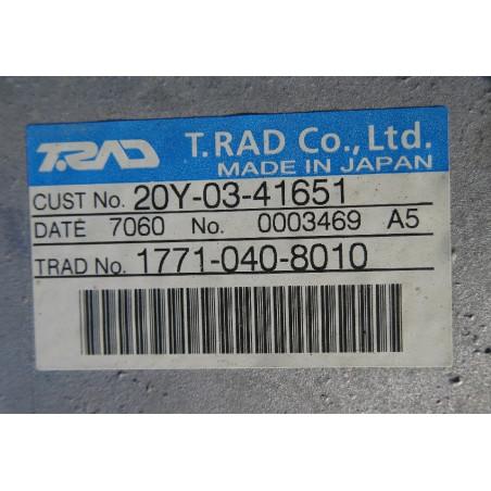 Komatsu Radiator 20Y-03-41651 for PC210-8 · (SKU: 927)