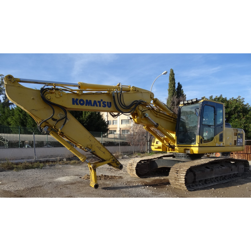 Excavadora de cadenas Komatsu PC210LC-8