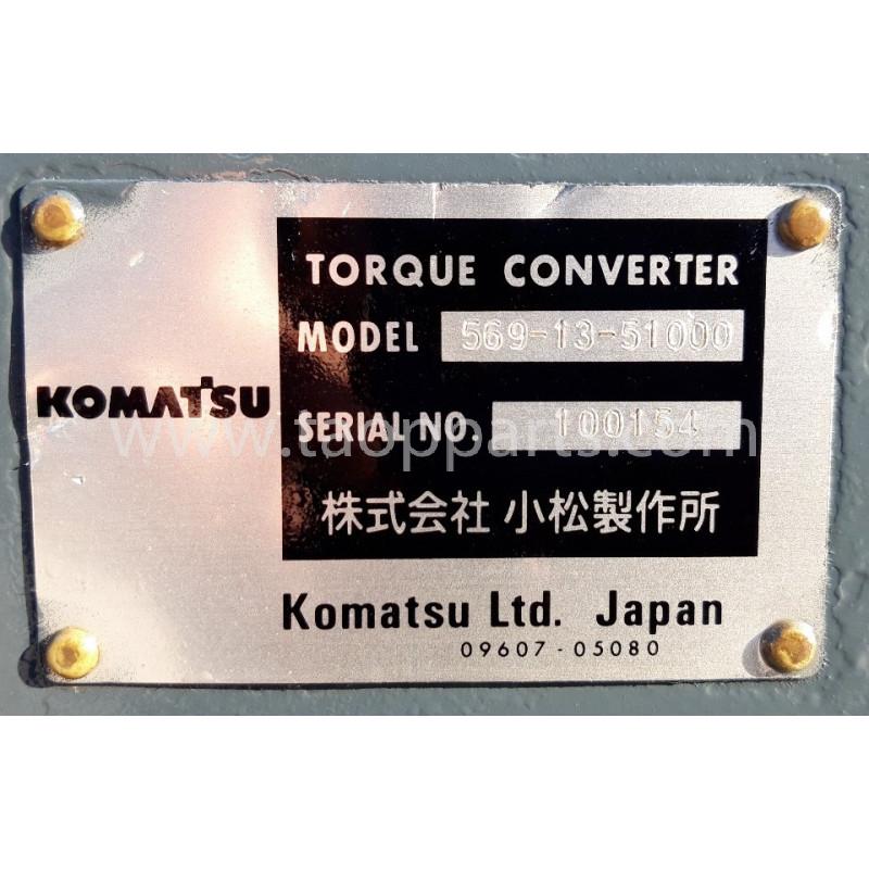 Komatsu Torque converter 569-13-51000 for HD 465-7 · (SKU: 54990)