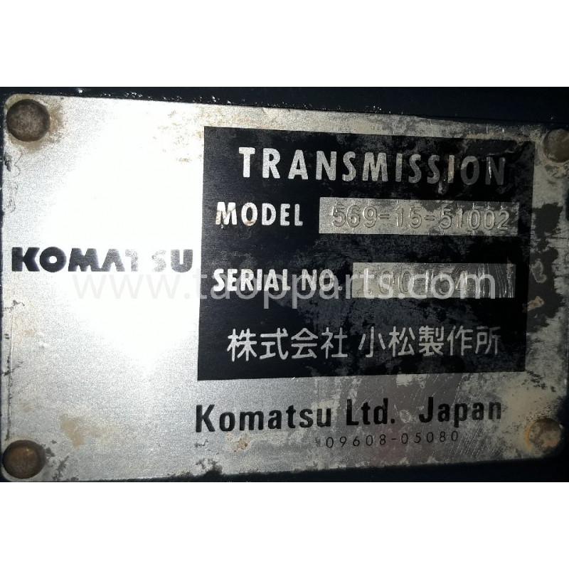 TRANSMISSAO Komatsu 569-15-51003 HD 465-7 · (SKU: 54991)