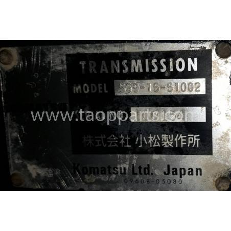 TRANSMISION Komatsu 569-15-51003 para HD 465-7 · (SKU: 54991)