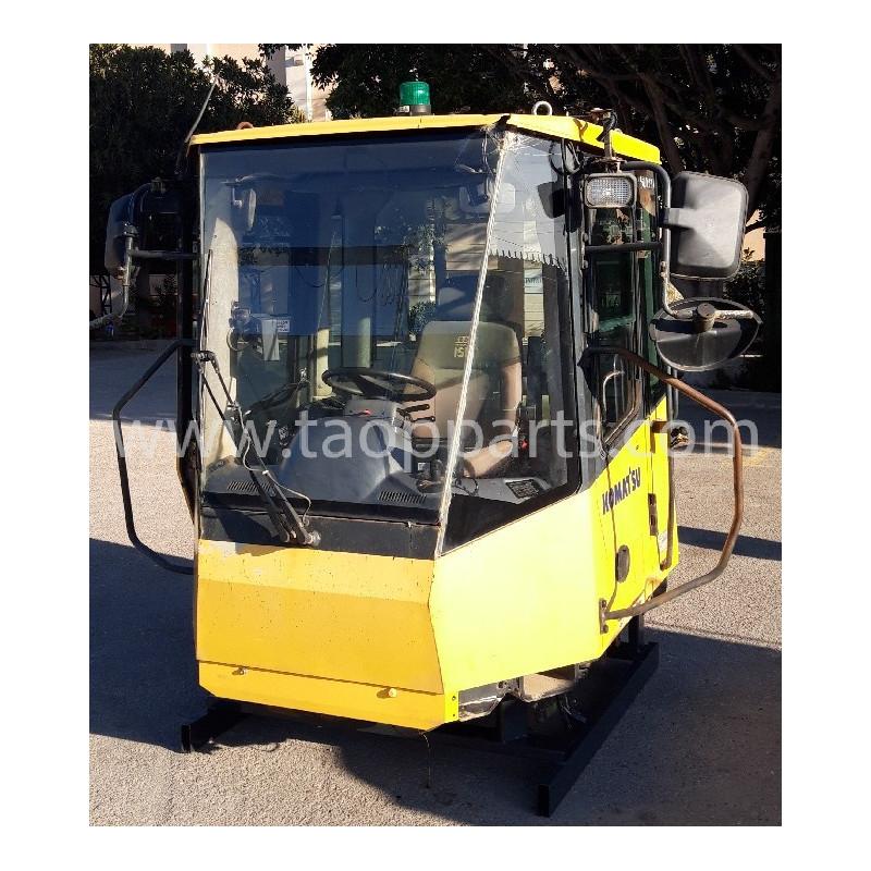 Cabina Komatsu 421-56-H4E00 de Pala cargadora de neumáticos WA400-5H · (SKU: 53487)