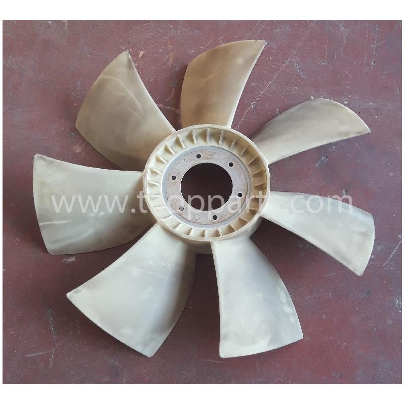 Ventilador Komatsu 419-03-33211 para WA320-5 · (SKU: 55371)