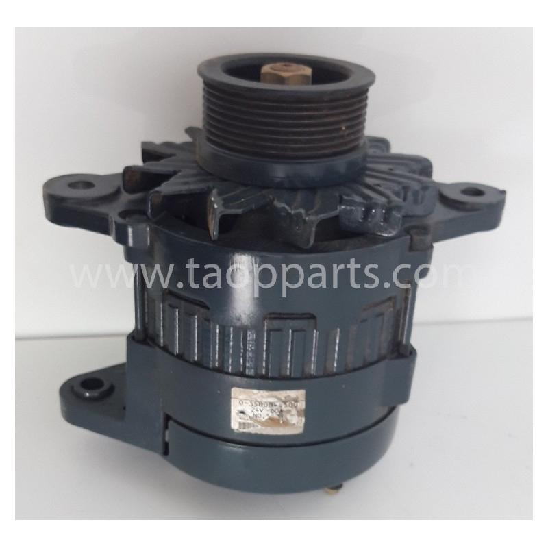 Alternador usado 600-861-6110 para Pala cargadora de neumáticos Komatsu · (SKU: 57308)