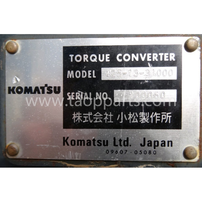 Convertizor Komatsu 425-13-31000 pentru WA500-6 · (SKU: 1026)