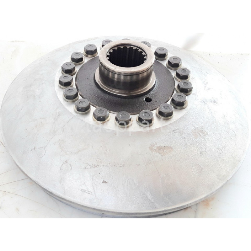 Impeller Komatsu 711-50-41520 pour Chargeuse sur pneus WA380-3 · (SKU: 58507)