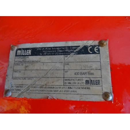 Enganche Rapido MILLER HKMF1STD0000A0 para PC300 · (SKU: 1109)