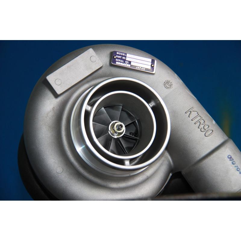 Turbocompresseur Komatsu 6506-21-5020 pour engins · (SKU: 271)