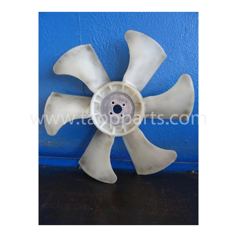 Ventilador Komatsu YM129612-44700 de Minicargadora SK815 · (SKU: 3791)