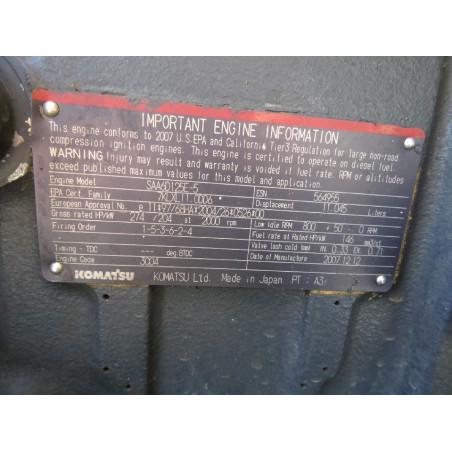MOTOR Komatsu 6251-D0-0010 para WA470-6 · (SKU: 921)
