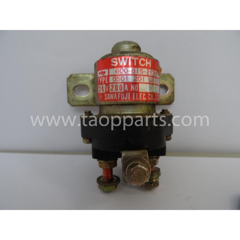 Interruptor Komatsu 600-815-2170 para WA480-5 · (SKU: 2769)