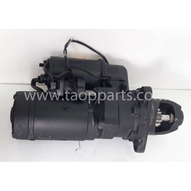 Motor de arranque usado 600-813-9312 para Pala cargadora de neumáticos Komatsu · (SKU: 57528)