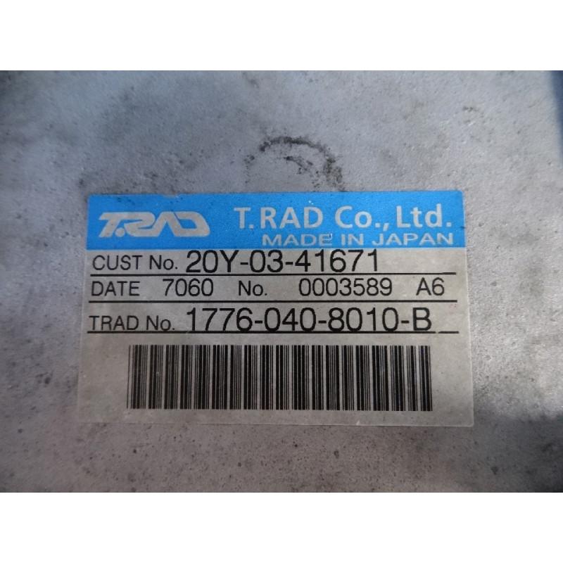 Refroidisseur d'air Komatsu 20Y-03-41671 pour PC210-8 · (SKU: 1214)