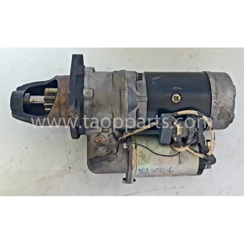 Motor de arranque Komatsu 600-813-9322 de Pala cargadora de neumáticos WA500-6 · (SKU: 59070)