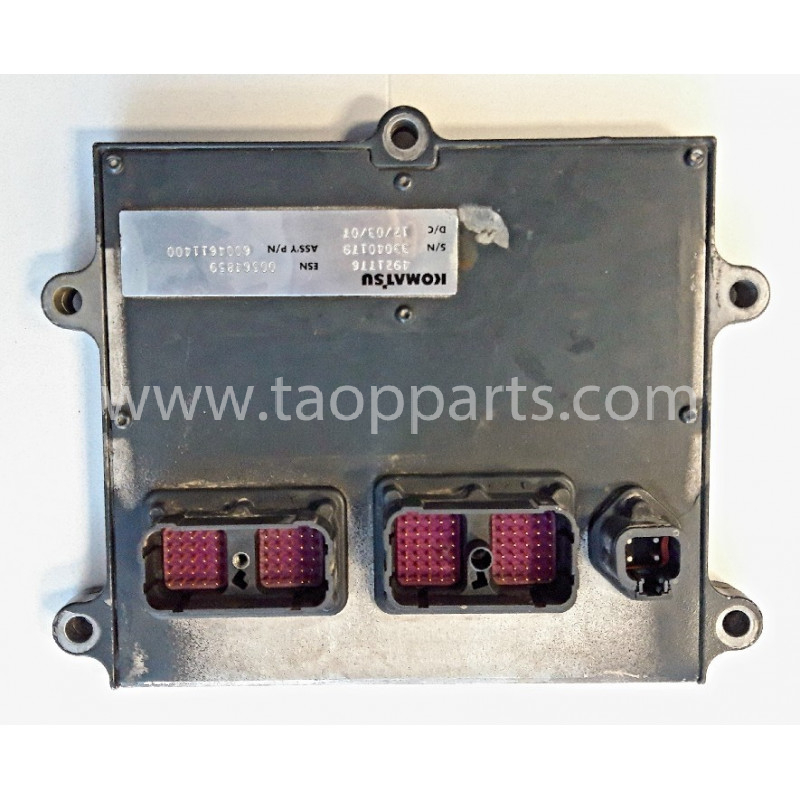 Controlador 600-461-1400 para Pala cargadora de neumáticos Komatsu WA470-6 · (SKU: 59322)