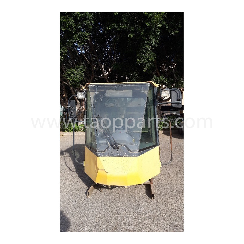 Cabina 423-56-H3602 para Pala cargadora de neumáticos Komatsu WA470-6 · (SKU: 54620)