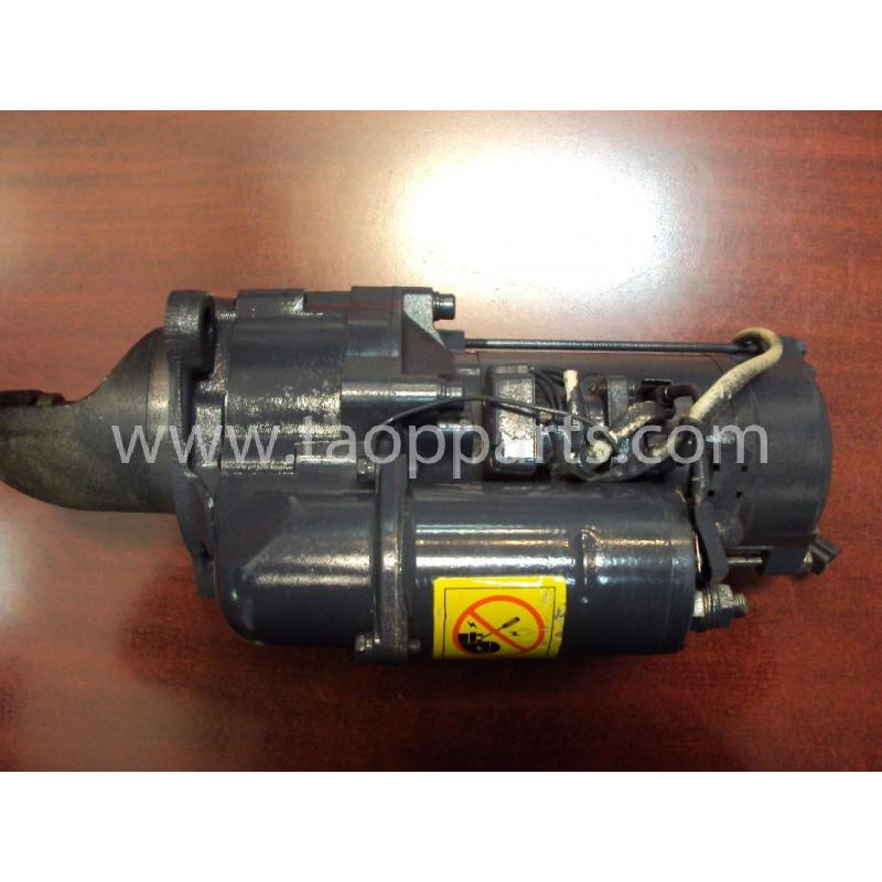 Motor de arranque Komatsu 600-813-6632 de Pala cargadora de neumáticos WA470-5 · (SKU: 1428)