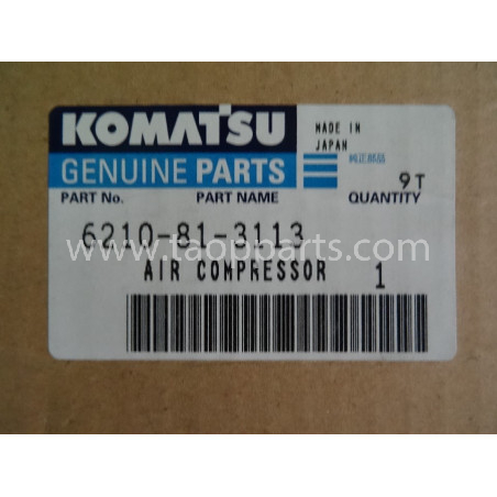 Compresor Komatsu 6210-81-3113 para HD325-6 · (SKU: 1619)