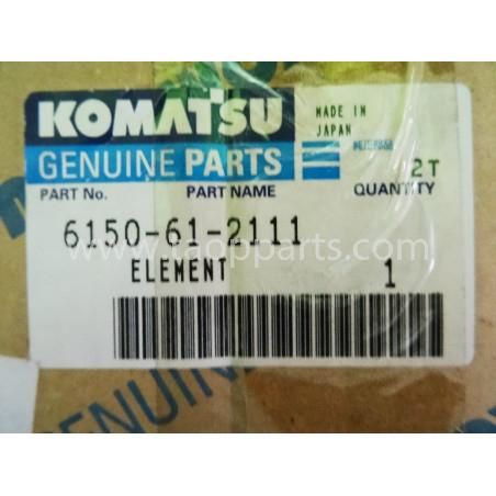 Enfriador Komatsu 6150-61-2111 para PC400-3 · (SKU: 1647)