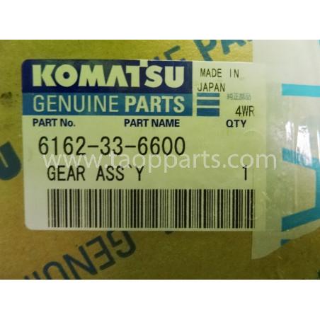 Engranaje de distribucion Komatsu 6162-33-6600 para HD605-5 · (SKU: 1659)