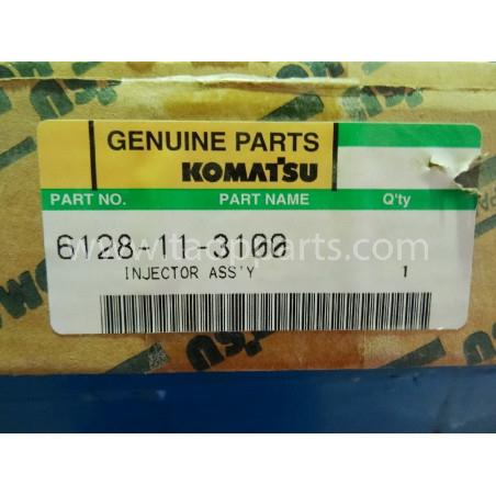 Inyector Komatsu 6128-11-3100 para D355A3 · (SKU: 1663)