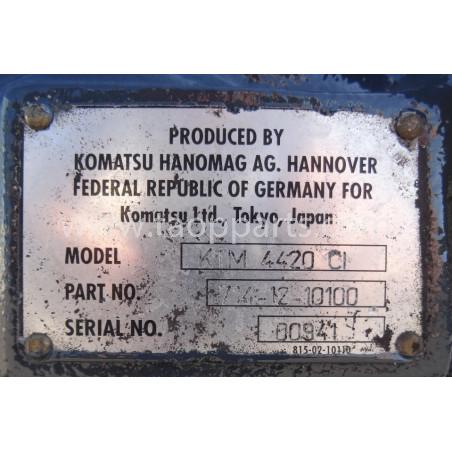 TRANSMISION Komatsu 714-12-10100 para WA380-3 · (SKU: 1668)