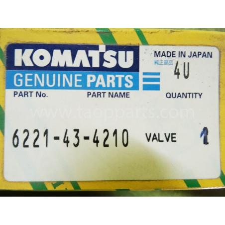 Valvula Komatsu 6221-43-4210 para PC340-6 · (SKU: 1675)